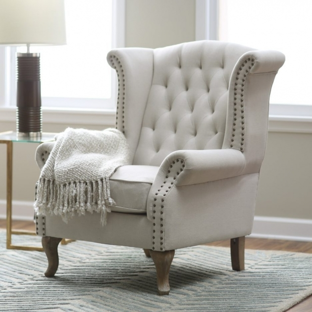 Popular Cream Colored Accent Chairs Picture