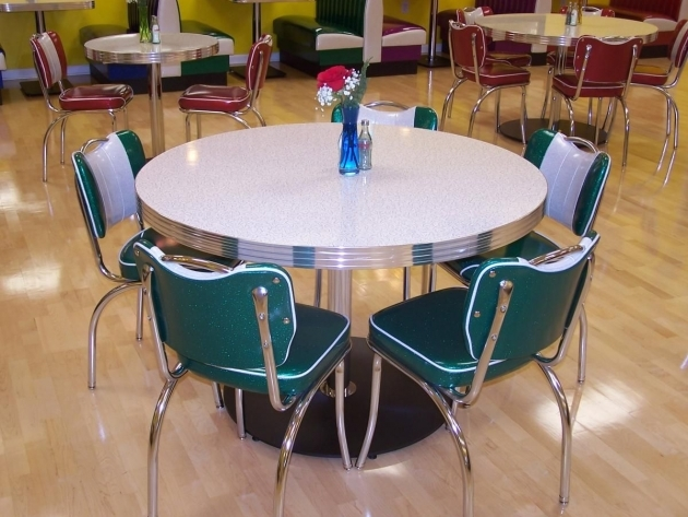 Popular Retro Kitchen Tables And Chairs Photo
