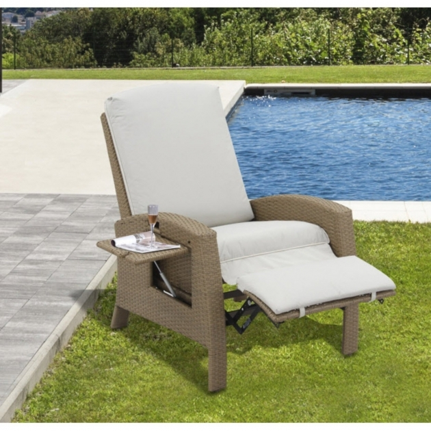 Popular Wicker Reclining Patio Chair Photos