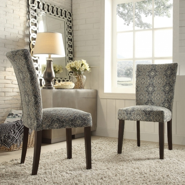 Remarkable Damask Accent Chair Pic