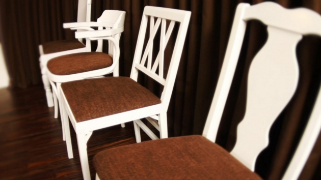 Remarkable How To Reupholster Kitchen Chairs Ideas