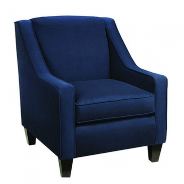Remarkable Navy And White Accent Chair Photos