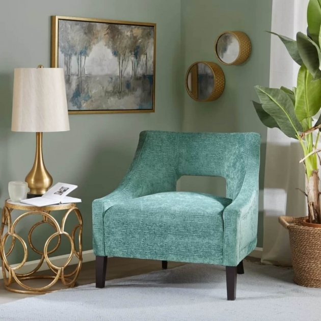 Remarkable Peacock Accent Chair Image