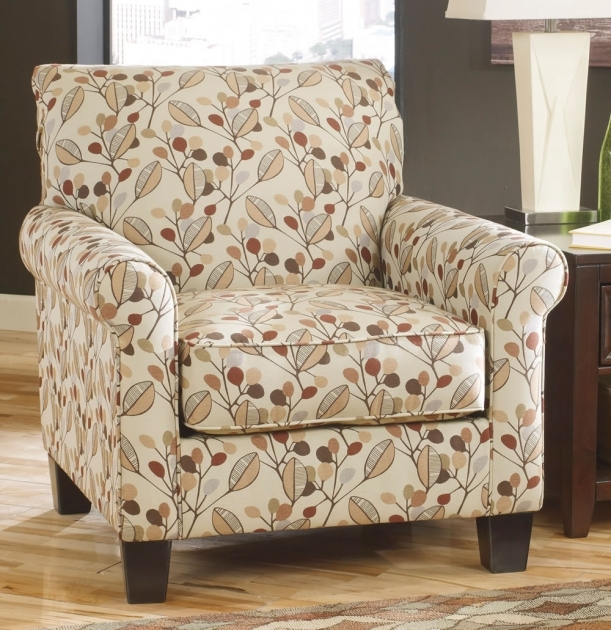 Remarkable Red Pattern Accent Chair Pictures