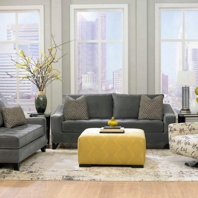 Remarkable Yellow And Gray Accent Chair Ideas