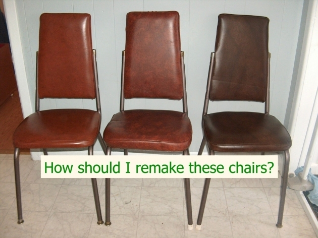 Splendid How To Reupholster Kitchen Chairs Image