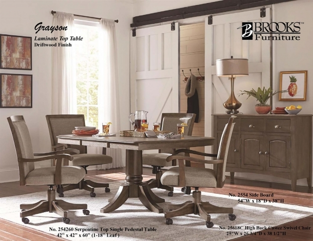 Splendid Kitchen Table And Chairs With Wheels Photo