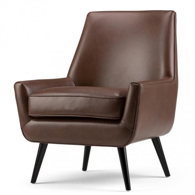 Splendid Leather Accent Chairs With Arms Image