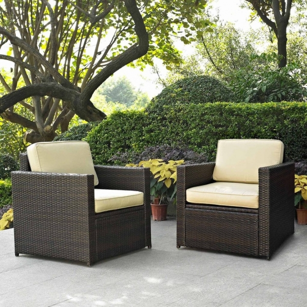 Splendid Patio Chair With Hidden Ottoman Image