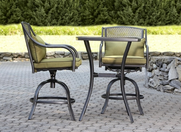 Splendid Patio Tall Table And Chairs Photos