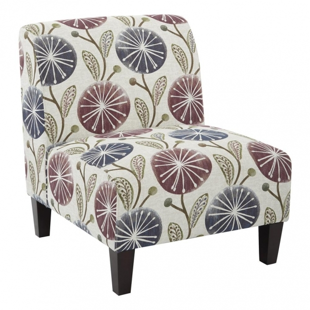 Splendid Plum Accent Chair Image