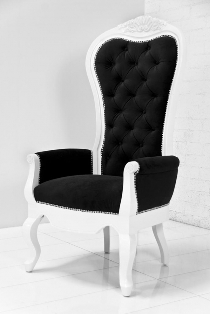 Splendid Tall Back Accent Chairs Images