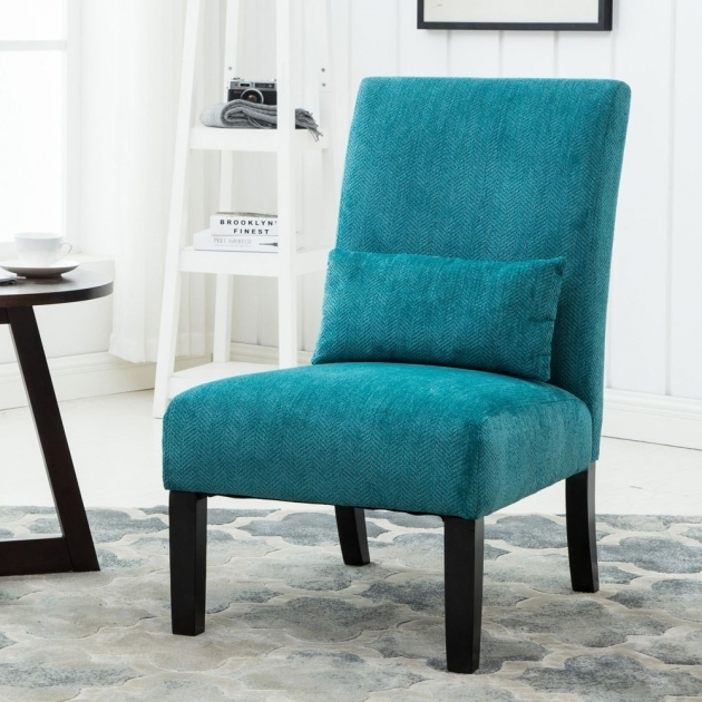 Splendid Teal Blue Accent Chair Pics