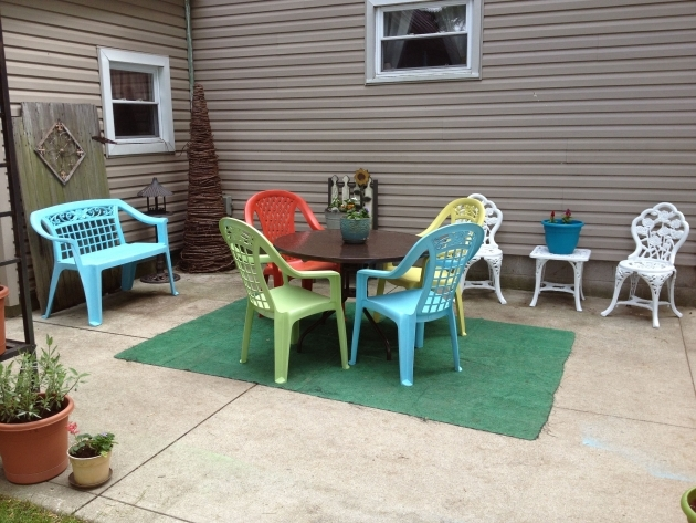 Splendid Turquoise Patio Chairs Image