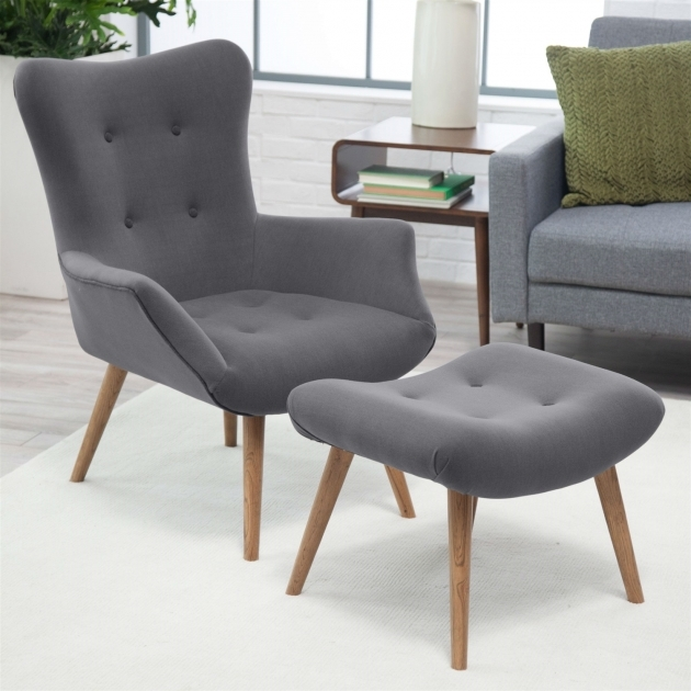 Stunning Grey Accent Chair With Arms Pictures