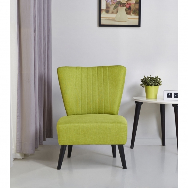 Stunning Lime Green Accent Chair Pic
