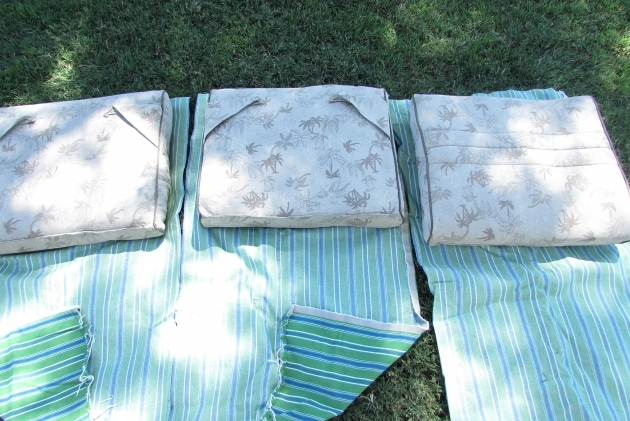 Stunning Recovering Patio Chair Cushions Image