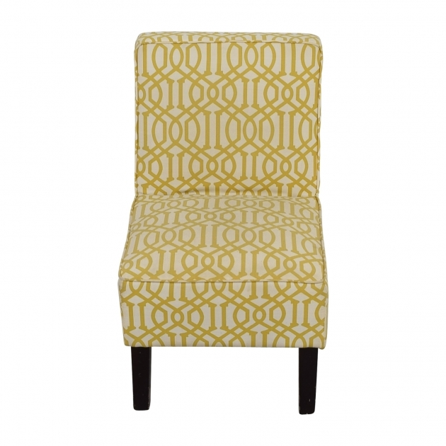 Stunning Yellow And White Accent Chairs Images