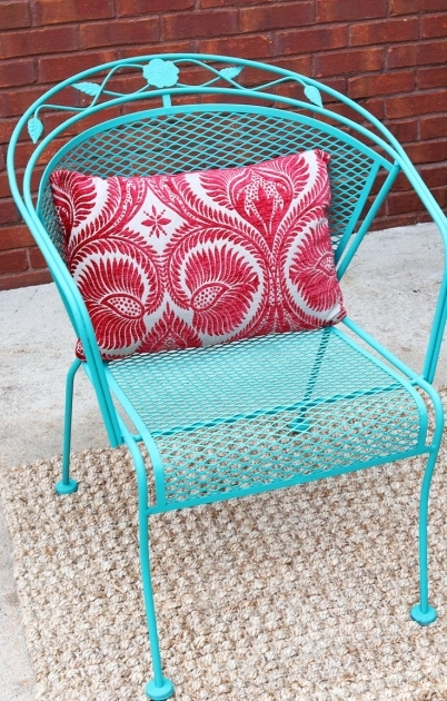 Stylish Colorful Patio Chairs Ideas