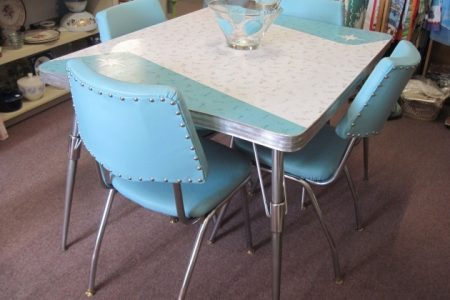 Retro Kitchen Tables And Chairs