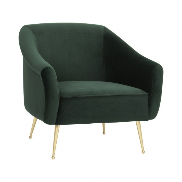 Top Emerald Green Accent Chair Image