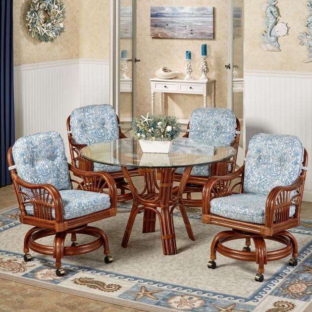 Top Kitchen Table And Chairs With Wheels Photos