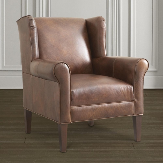 Top Leather Accent Chairs With Arms Ideas