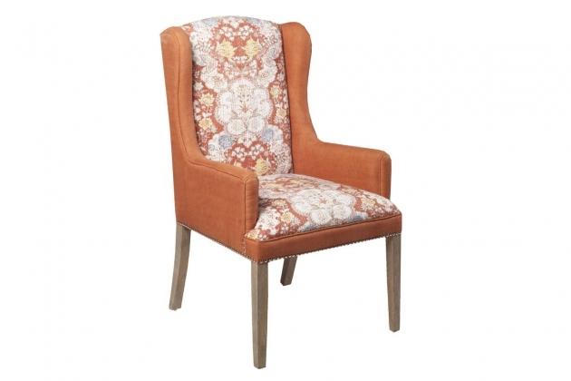 Unique Rust Accent Chair Photo