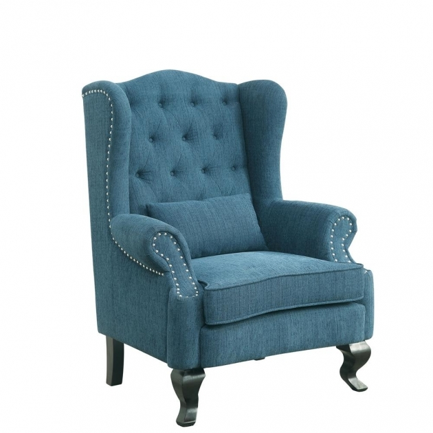 Unique Teal Blue Accent Chair Photos