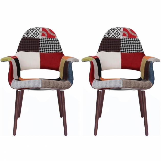 Unique Upholstered Accent Chairs With Arms Image