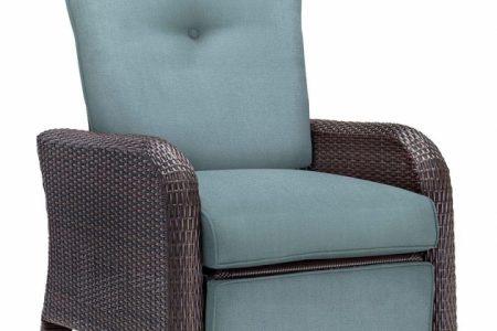 Wicker Reclining Patio Chair