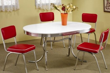 50's Kitchen Table And Chairs