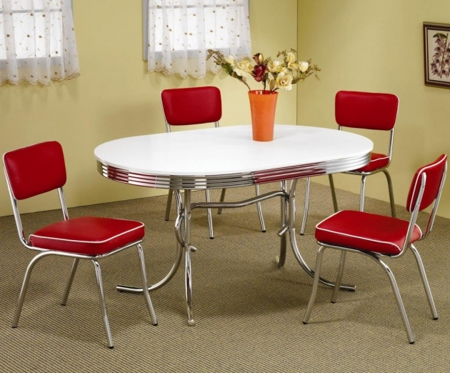 Wonderful 50's Kitchen Table And Chairs Photo