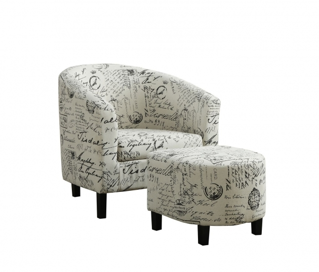 Wonderful Accent Chair With Writing On It Photos