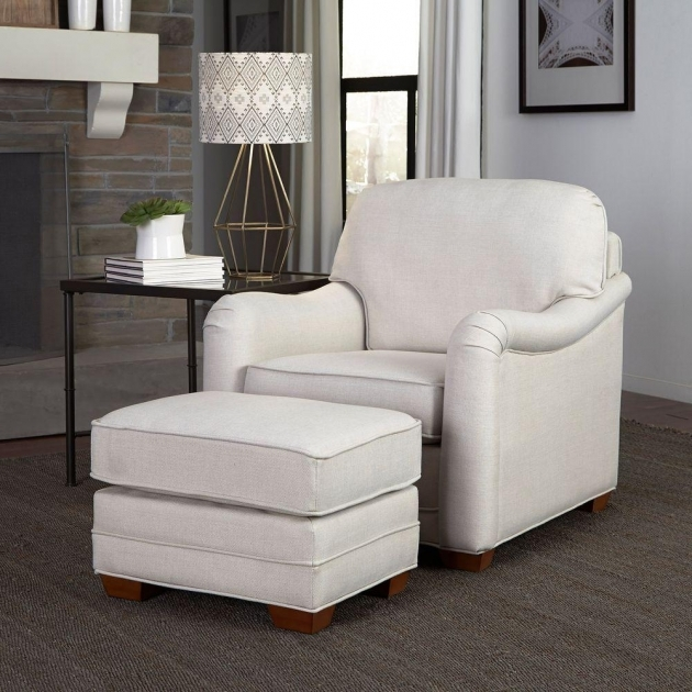 Wonderful Off White Accent Chair Photo