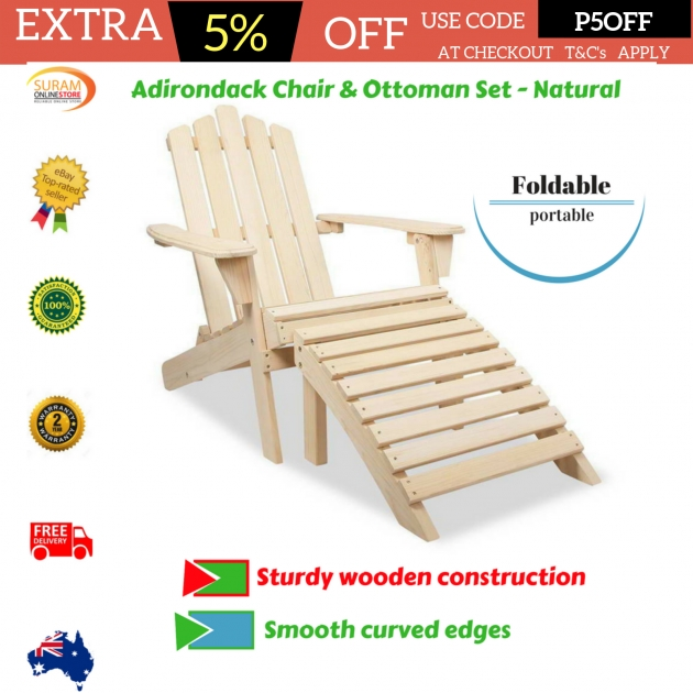 Wonderful Patio Chair With Ottoman Set Images