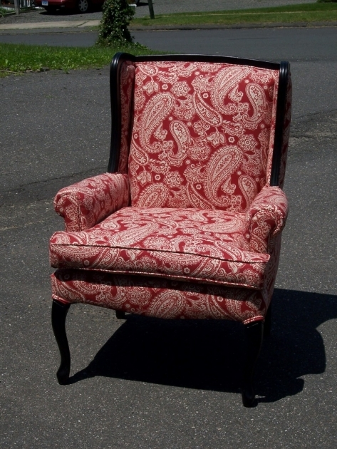 Wonderful Red And White Accent Chair Images