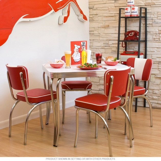 Wonderful Retro Kitchen Tables And Chairs Photo
