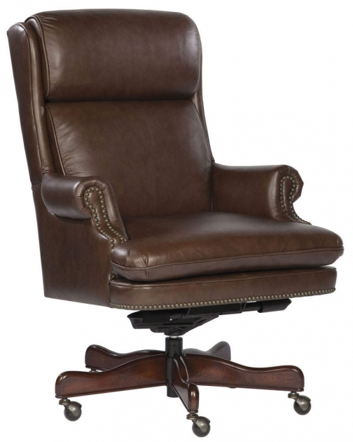 Antique Leather Swivel Chair Brown Photo 85