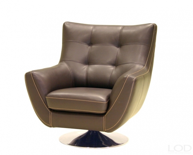 Chocolate Leather Swivel Chair Contemporary Ideas Image 43