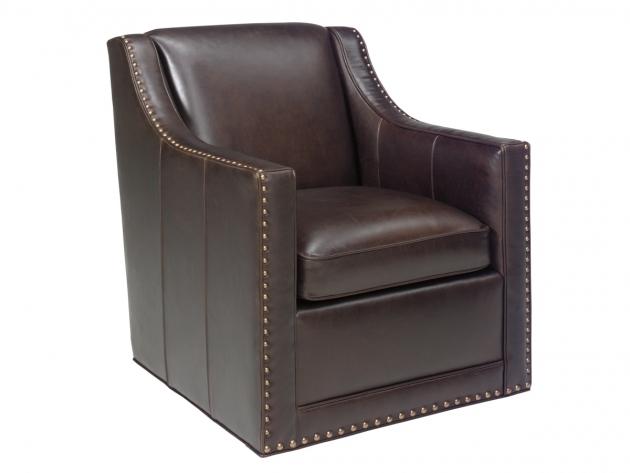 Lexington Barrier Leather Swivel Chair Home Furniture Photos 79