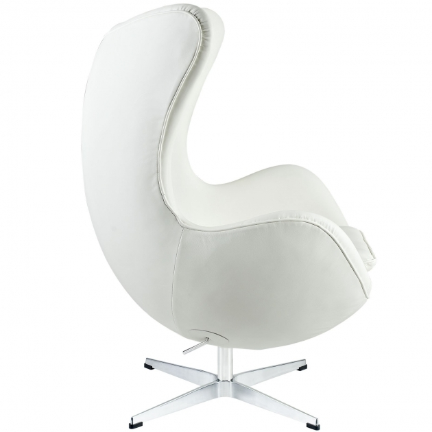 Modern Swivel Chair White Leather Swivel Lounge Design Image 94
