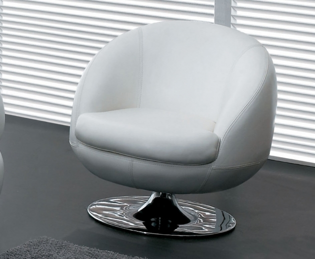 Small Swivel Chair Single White Design And Ideas Pictures 89