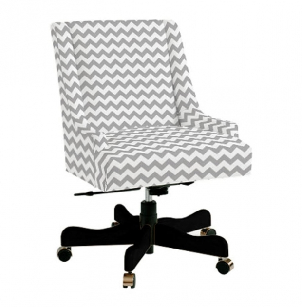 Swivel Desk Chair Upholstered Modern Design Pics 02