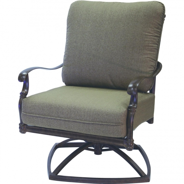 swivel rocker chair florence cast aluminum deep seating patio pics 25 - Swivel Rocker Chair