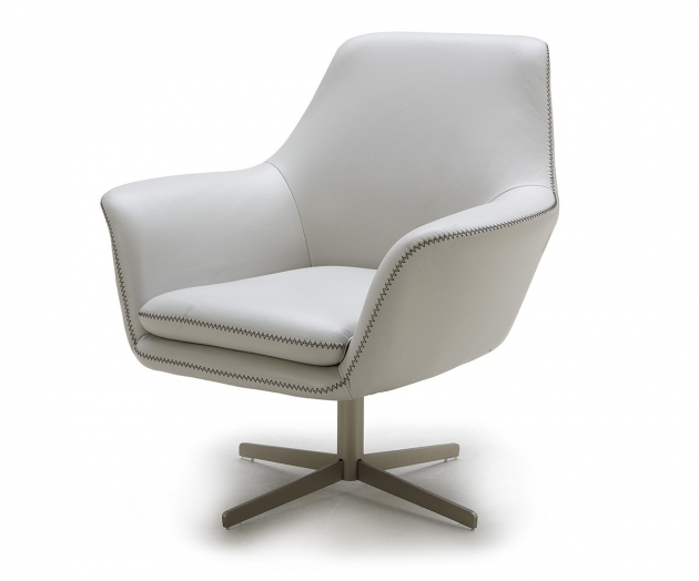 White Leather Swivel Chair Home Poli Grey Modern Leather Swivel Lounge Chairs Images 34