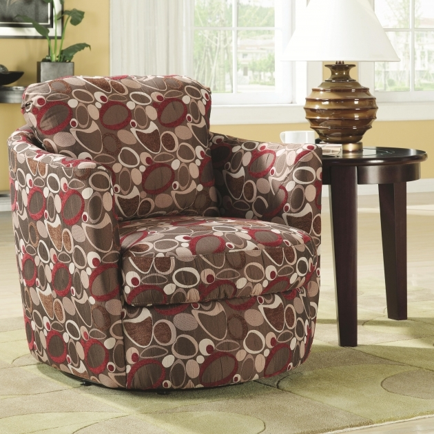 Accent Seating Swivel Upholstered Chair Images 66