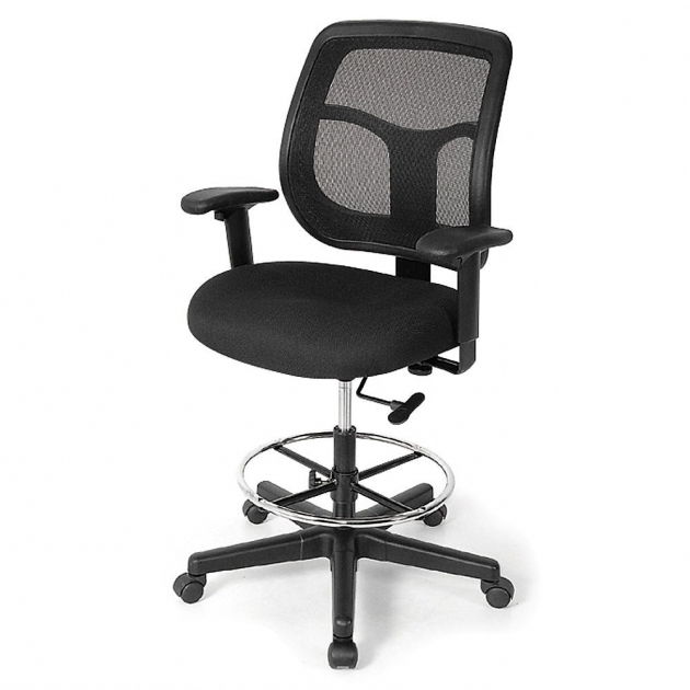 Apollo Mesh Back Tall Office Chairs For Standing Desks Picture 57
