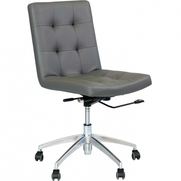Armless Office Chairs With Wheels For Comfy Furniture Think Armless Chairs Matrix Dexter Grey Adjustable Height Picture 55