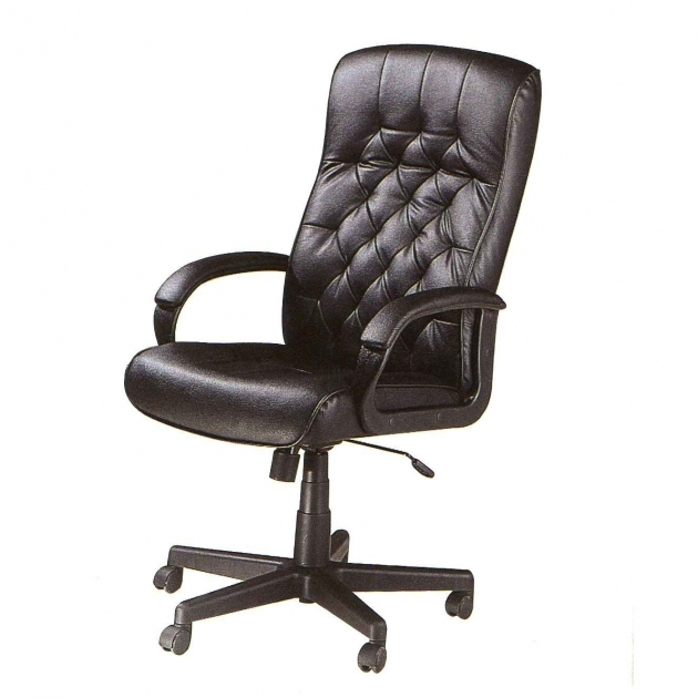 Best leather office chair chair design for Best office desk chairs